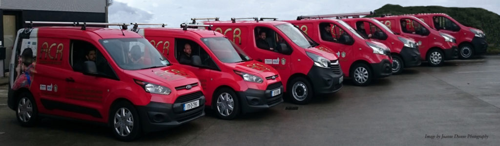 ACR Fleet of vans for website